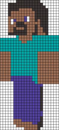 2.рисовать по клеточкам Майнкрафт
