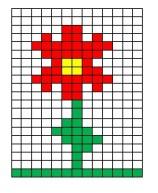02.Рисунки по клеточкам фото для начинающих