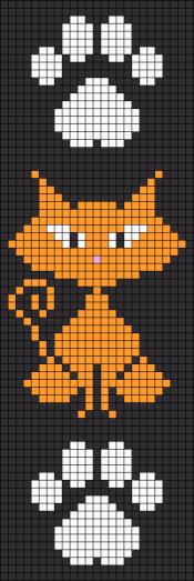 10.рисунки по клеточкам котики