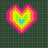 02.рисунки по клеточкам сердечки