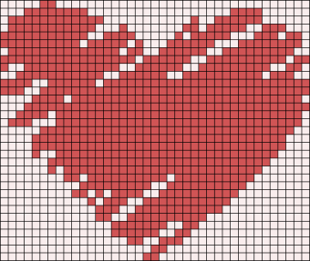 06.рисунки по клеточкам сердечки