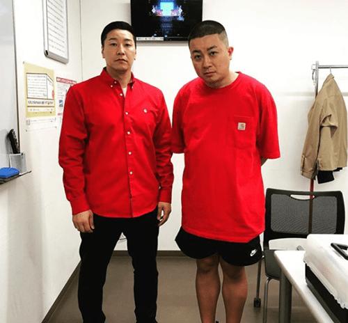 チョコレートプラネット 長田庄平 instagramより
