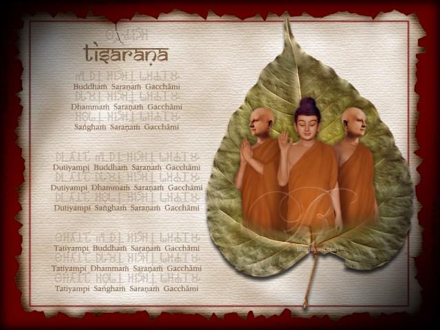 Ti-Saraṇa, i Tre Rifugi