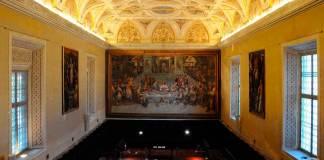 La Sala Dantesca della Biblioteca Classense