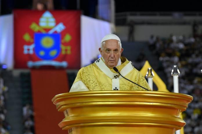 Il Papa allo stadio nazionale di Bangkok, 21 settembre