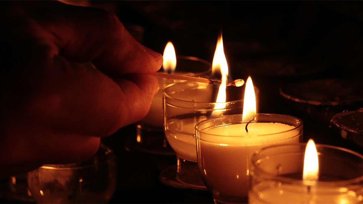 Candele candelora 2 febbraio e notte di Pasqua