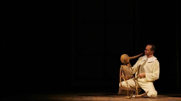 Uno spettacolo del Teatro del Drago