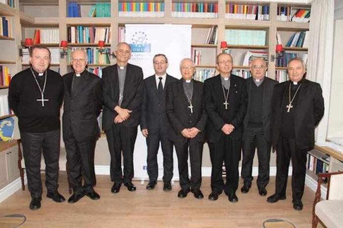 Alcuni dei vescovi dell'Emilia-Romagna
