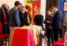 La Camera ardente di Fabrizio Matteucci aperta questa mattina in Municipio