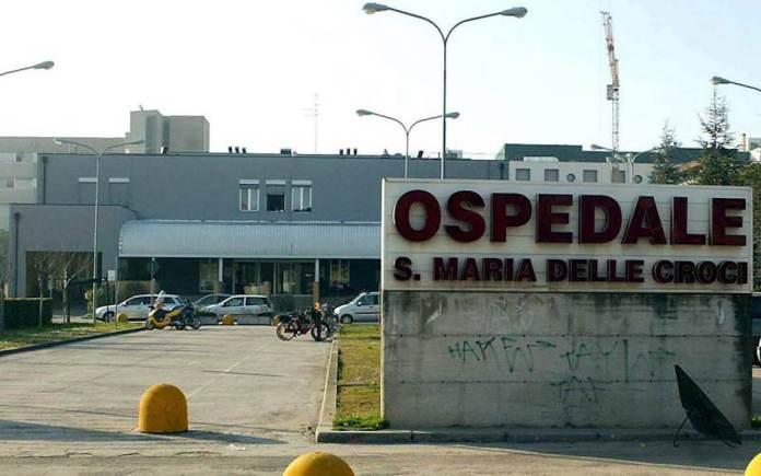 L'ingresso dell'ospedale