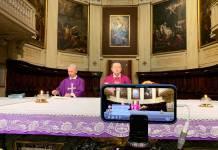 La Messa di ieri in Cattedrale