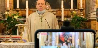 Monsignor Ghizzoni alla Messa di questa mattina in Duomo