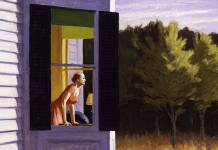 "Edward Hopper, ""Cape Code morning"""
