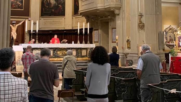 La Messa di questa mattina in Cattedrale