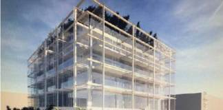 Il rendering della nuova palazzina di aule e laboratori che sorgerà accanto al Cmp