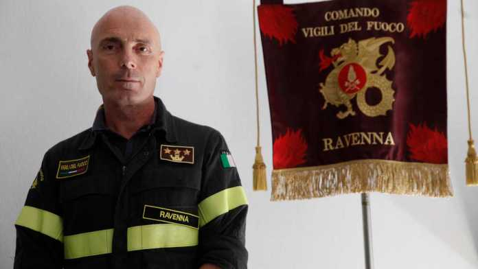 Luca Manselli, nuovo comandante dei Vigili del Fuoco di Ravenna