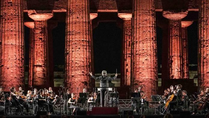 Il concerto a Paestum