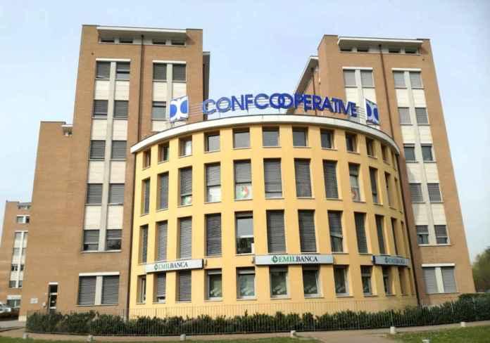 Una delle sedi regionali di Confcooperative