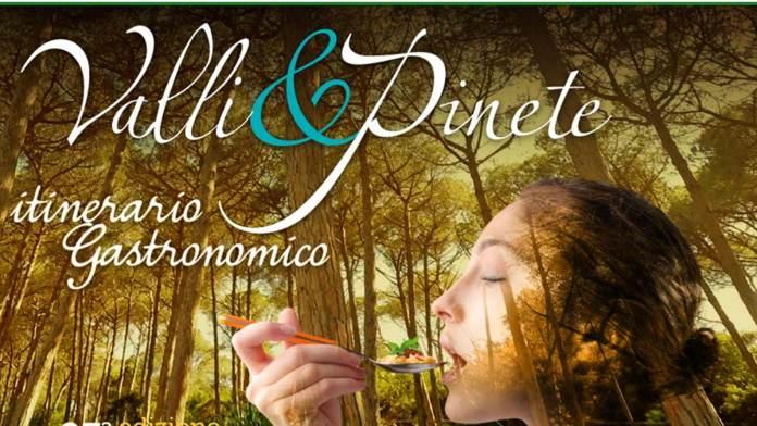 Il manifesto dell'edizione 2020 di Valli & Pinete