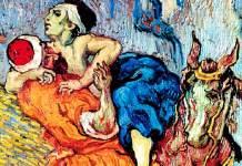 "Vincent Van Gogh (1890) ""Il Buon Samaritano"" Otterlo, Kröller Müller Museum. Olio su tela"