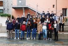Il primo gruppo di studenti che ha iniziato il corso di Medicina a Ravenna
