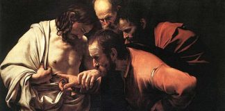 Caravaggio, Tommaso incredulo