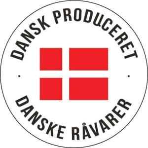 Danskproduceret logo