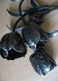 Кованые тюльпаны. Цена 9000 руб/цветок