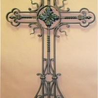 Кованый крест №16