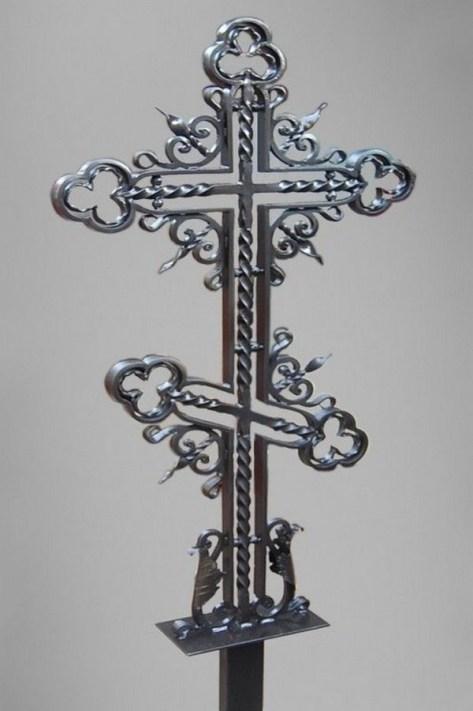 Кованый крест 23