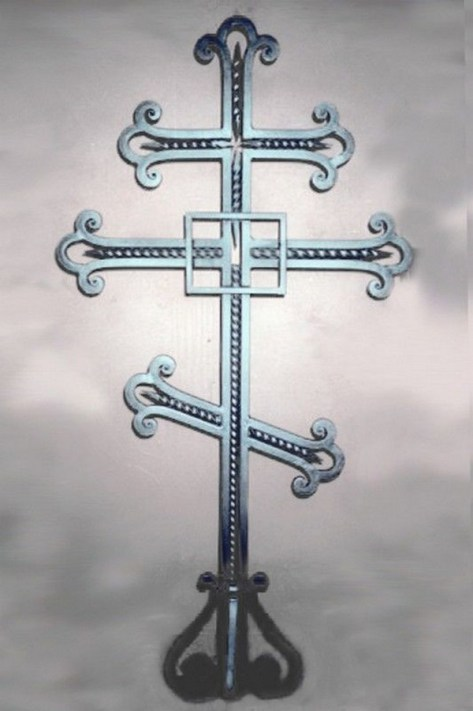 Кованый крест 26