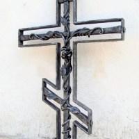 Кованый крест №27