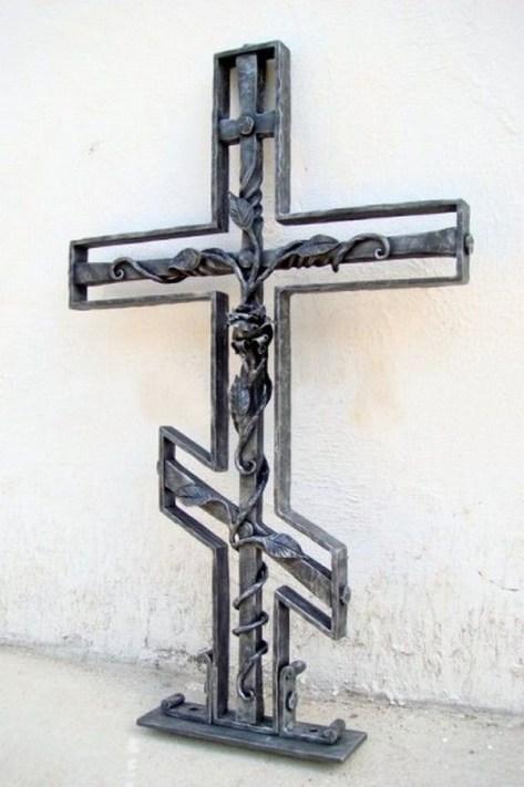 Кованый крест 27