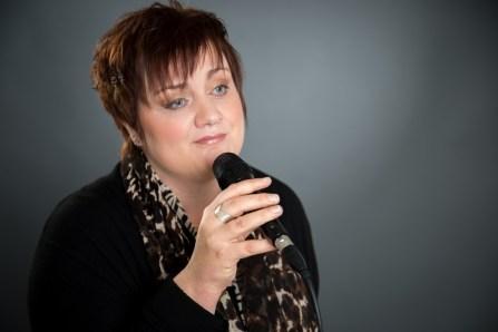 Sängerin Rita Röscher aus Herford
