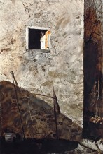 Andrew Wyeth, The Pikes, 1965, watercolor on paper, The San Diego Museum of Art