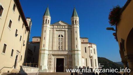 Widok na kościół