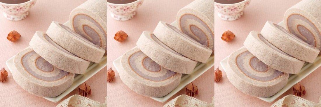 經典芋頭-芋泥蛋糕卷