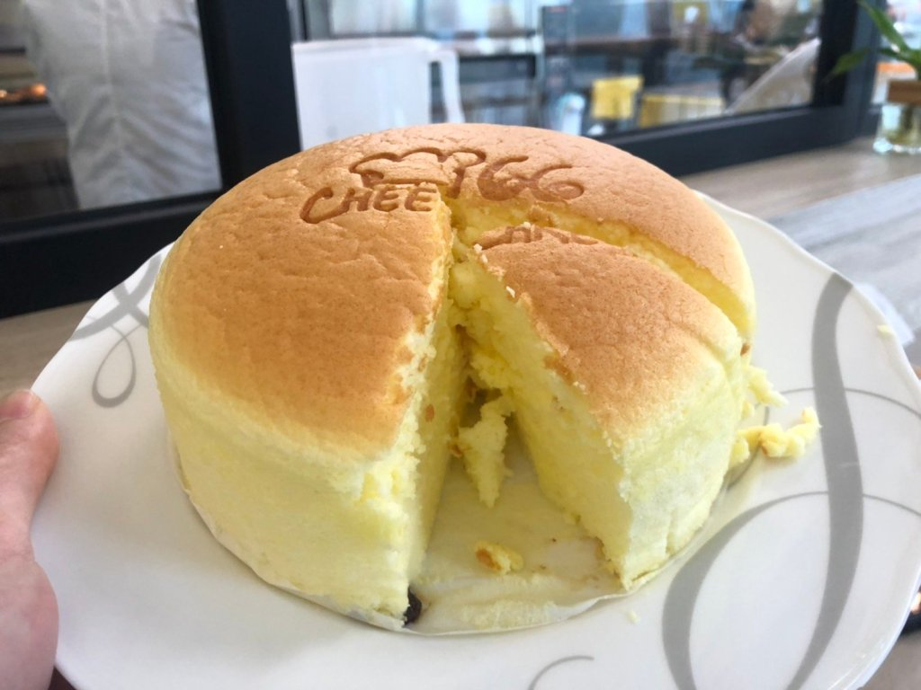 原味輕乳酪蛋糕3