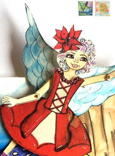 Magical Theatre Book: Ballerina Fairy Paper Doll Fun!