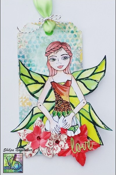 Fairy Garden Tag by Shilpa using Magical Theatre