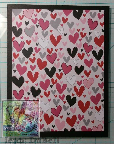 Love Is In The Air Card Rita Barakat Designs