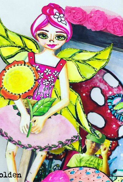 Whimsical Paper Dolls