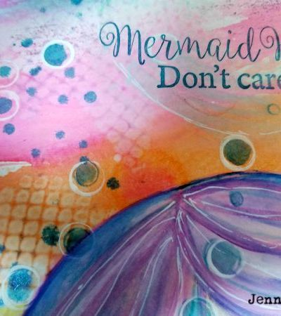 Watercolor journaling with Jenn