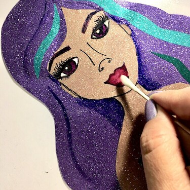 Mixed Media Tips for working with vinyl!  Mermaid Hop with Rita Barakat and Style Tech Crafts!