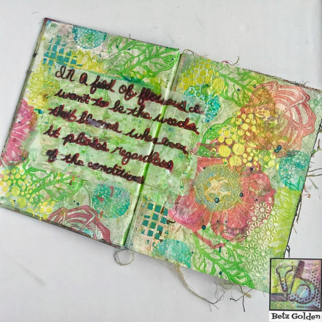 Art Foamies flower stamps by Rita Barakat