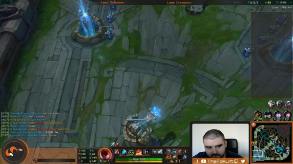 League Of Legends Spectate Overlay - Exploring Mars