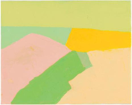 etel adnan untitled 2010