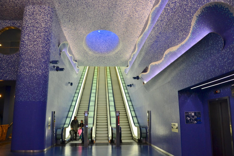 metro arte napoli