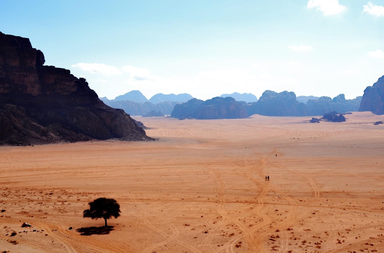 wadi rum deserto della giordania