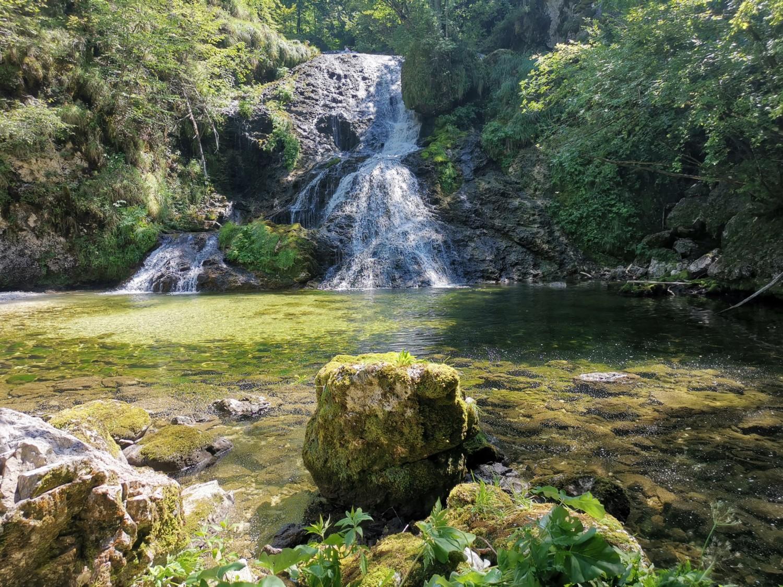 Fontanon di Goriuda - cascata bassa
